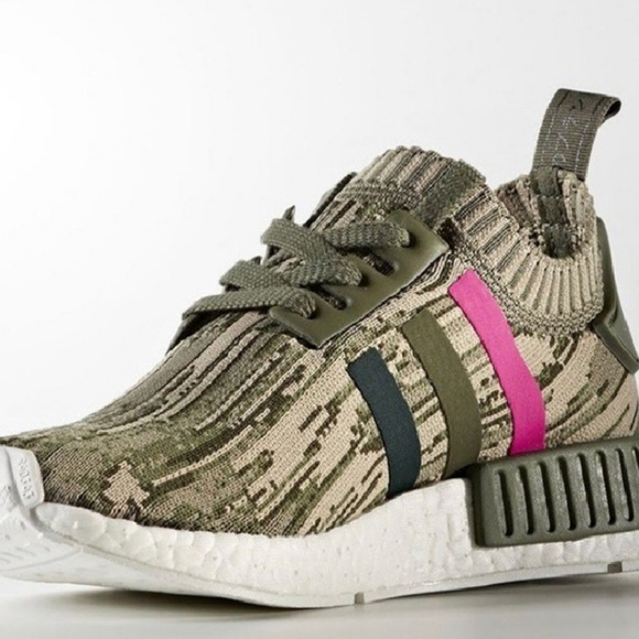 c06ab087f1187 adidas Shoes - adidas NMD R1 PK Japan Camo Womens BY9864 Green